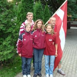 6. Eiropas Nedzirdīgo čempionāts un 1. Eiropas Nedzirdīgo junioru čempionāts orientēšanās sportā