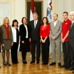 Vīzīte pie Valsts prezidenta Rīgas pilī
