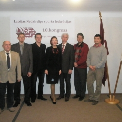 Latvijas Nedzirdīgo sporta federācijas 10. KONGRESS