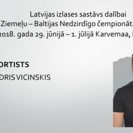 Latvijas izlases sastāvs dalībai NBDSF diskgolfā 2018